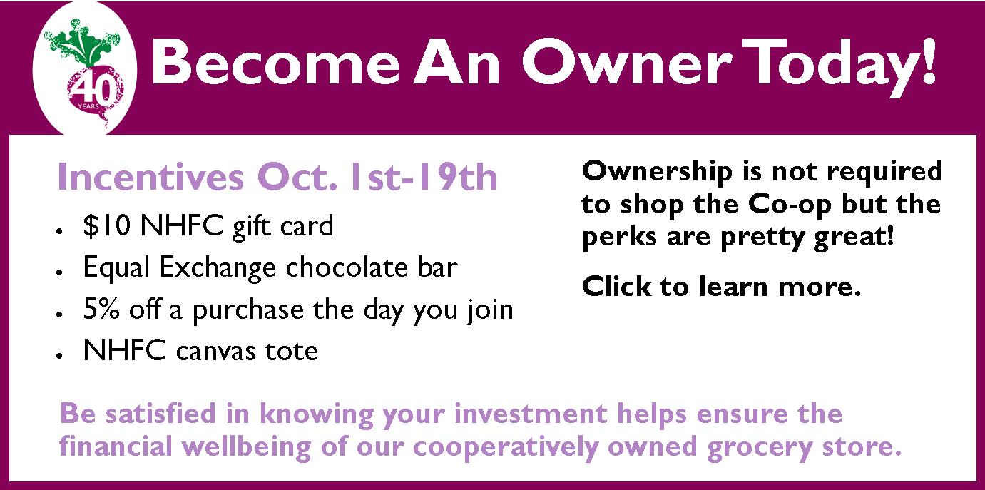 October Owner Drive
