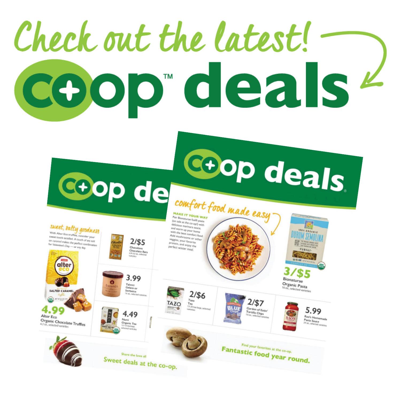 Co-Op Deals for 3/31 - 4/20