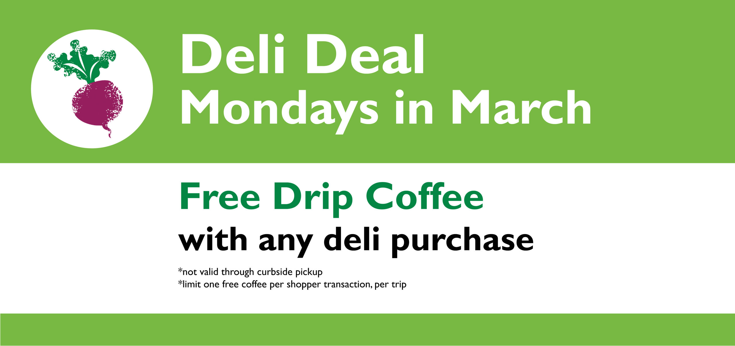 Deli Deal – March